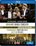Brahms Double Concerto, Tchaikovsky, Liszt : Lisa Batiashvili(Vn)Gautier Capucon(Vc)Christian Thielemann / Staatskapelle Dresden