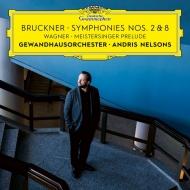 Bruckner Symphonies Nos.2, 8, Wagner Meistersinger von Nurnberg Prelude : Andris Nelsons / Gewandhaus Orchestra (2CD)