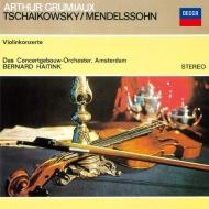 チャイコフスキー:ヴァイオリン協奏曲、メンデルスゾーン:ヴァイオリン協奏曲 アルテュール・グリュミオー、ハイティンク&コンセルトヘボウ(シングルレイヤー)