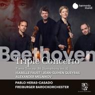 三重協奏曲、交響曲第2番(三重奏曲版) イザベル・ファウスト、ジャン=ギアン・ケラス、アレクサンドル・メルニコフ、エラス=カサド&フライブルク・バロック管
