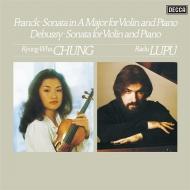 フランク&ドビュッシー:ヴァイオリン・ソナタ集 チョン・キョンファ、ラドゥ・ルプー (180グラム重量盤レコード/ANALOGPHONIC)