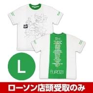 グリーン(L)Tシャツ 水曜どうでしょう EURO21