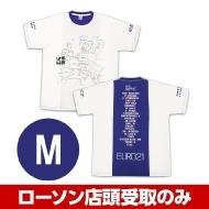 ブルー(M)Tシャツ 水曜どうでしょう EURO21