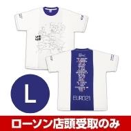 ブルー(L)Tシャツ 水曜どうでしょう EURO21