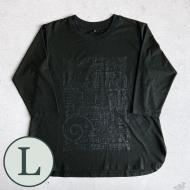 LTS cell T-shirts[L / 七分袖]