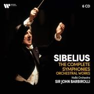 交響曲全集、管弦楽作品集 ジョン・バルビローリ&ハレ管弦楽団(6CD)