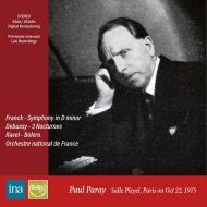 Franck Symphony, Debussy Nocturnes, Ravel Bolero : Paul Paray / French National Orchestra (1975)