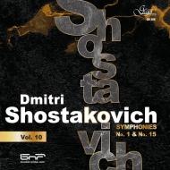 交響曲第1番、第15番 エミール・タバコフ&ブルガリア国立放送交響楽団
