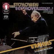 Sym, 3, Coriolan: Stokowski / Lso +brahms: Academic Fest Overture: Npo