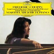 ピアノ・ソナタ第2番、アンダンテ・スピアナートと華麗なる大ポロネーズ、スケルツォ第2番 マルタ・アルゲリッチ