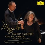 ピアノ協奏曲第20番、第25番 マルタ・アルゲリッチ、クラウディオ・アバド&モーツァルト管弦楽団
