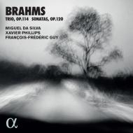 ヴィオラ・ソナタ第1番、第2番、ヴィオラ三重奏曲 ミゲル・ダ・シルヴァ、フランソワ=フレデリック・ギィ、グザヴィエ・フィリップ