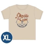ライブTシャツ(XL)/ Double the Cape