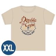 ライブTシャツ(XXL)/ Double the Cape