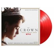 ザ・クラウン Crown Season 2 オリジナルサウンドトラック (半透明レッド・ヴァイナル仕様/2枚組/180グラム重量盤レコード/Music On Vinyl)