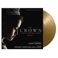 ザ・クラウン Crown Season 1オリジナルサウンドトラック (ゴールド・ヴァイナル仕様/2枚組/180グラム重量盤レコード/Music On Vinyl)