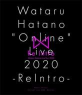 """《キャンペーン特典付き》Wataru Hatano """"Online"""" Live 2020 -ReIntro-Live BD"""