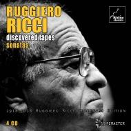 ルッジェーロ・リッチ・エディション3〜新発見テープからのソナタ集(4CD)