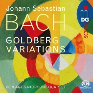 ゴルトベルク変奏曲(サックス四重奏版) ベルラーヘ・サクソフォン・クァルテット