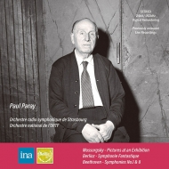 ムソルグスキー:展覧会の絵、ベルリオーズ:幻想交響曲、ベートーヴェン ポール・パレー&ストラスブール放送響、他(1966〜1973 ステレオ)(2CD)