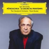 ペトルーシュカ&春の祭典 ピエール・ブーレーズ (2枚組/180グラム重量盤レコード/Deutsche Grammophon)