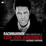 ピアノ協奏曲第3番 レイフ・オヴェ・アンスネス、アントニオ・パッパーノ、ロンドン交響楽団 (180グラム重量盤レコード)