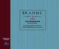 交響曲全集、ハイドンの主題による変奏曲、大学祝典序曲 フェリックス・ワインガルトナー&ロンドン交響楽団、ロンドン・フィル(3CD)