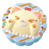 ぷにデコスクイーズキュート ふんわりねこカップケーキ