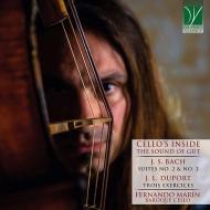 チェロの内側〜ガット弦の響き〜バッハ:無伴奏チェロ組曲第2番、第3番、デュポール:練習曲集 フェルナンド・マリン
