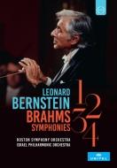 交響曲全集 レナード・バーンスタイン&ボストン交響楽団、イスラエル・フィル(1972、1973)(2DVD)