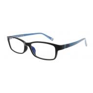 キングダム ブルーライトカットメガネ「信」モデル(ブラック)