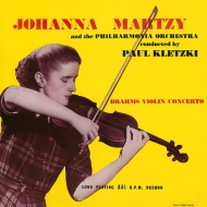 ヴァイオリン協奏曲 ニ長調 ヨハンナ・マルツィ、パウル・クレツキ、フィルハーモニア管弦楽団 (180グラム重量盤レコード)