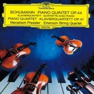 ピアノ五重奏曲、ピアノ四重奏曲 メナヘム・プレスラー、エマーソン弦楽四重奏団