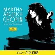 マルタ・アルゲリッチ/ショパン・ドイツ・グラモフォン録音全集(5CD+ブルーレイ・オーディオ)