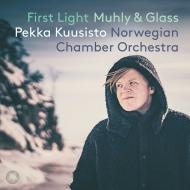 『夜明け〜ミューリー:縮小、グラス:ミシマ(弦楽合奏版)、果樹園』 ペッカ・クーシスト、ノルウェー室内管弦楽団