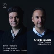 ピアノ協奏曲第1番、第2番、ピアノ三重奏曲第2番 シモン・トルプチェスキ、クリスティアン・マチェラル&ヤナーチェク・フィル、アレクサンドル・クラポフスキ、他
