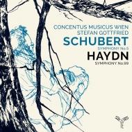 シューベルト:交響曲第5番、ハイドン:交響曲第99番 シュテファン・ゴットフリート&ウィーン・コンツェントゥス・ムジクス