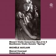 モーツァルト:ヴァイオリン協奏曲第4番、第5番、ベートーヴェン:『春』 ミシェル・オークレール、クーロー&シュトゥットガルト・フィル(平林直哉復刻)