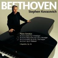 ピアノ・ソナタ第8, 14, 17, 21番 スティーヴン・コヴァセヴィッチ (2枚組/180グラム重量盤レコード/Warner Classics)
