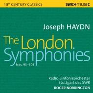 ロンドン交響曲集 ロジャー・ノリントン&シュトゥットガルト放送交響楽団(4CD)