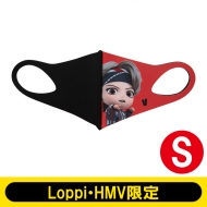 MIC Drop Double Layered 3D character fashion mask Sサイズ(V)【Loppi・HMV限定】