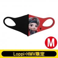 MIC Drop Double Layered 3D character fashion mask Mサイズ(V)【Loppi・HMV限定】