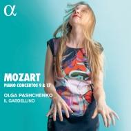 ピアノ協奏曲第9番『ジュノム』、第17番 オルガ・パシチェンコ(フォルテピアノ)、イル・ガルデリーノ(日本語解説付)