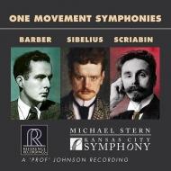 バーバー:交響曲第1番、シベリウス:交響曲第7番、スクリャービン:法悦の詩 マイケル・スターン&カンザスシティ交響楽団