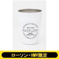 BAYFLOW CUP COFFEE TUMBLER BOOK MATTE WHITE 【ローソン・HMV限定】