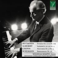 Wilhelm Kempff : Previously Unreleased Piano Recordings Milan 1978