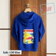 THE RIRI HOODIE ブルー(サイズ150)
