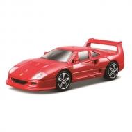 トミカプレゼンツ ブラーゴ レース&プレイシリーズ 1:43 F40 コンペティゼィオーネ(赤)