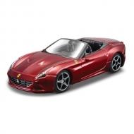 トミカプレゼンツ ブラーゴ レース&プレイシリーズ 3インチ フェラーリ カリフォルニア T(オープントップ)(赤)