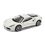トミカプレゼンツ ブラーゴ シグネチャーシリーズ 1:43 488 GTB(白)